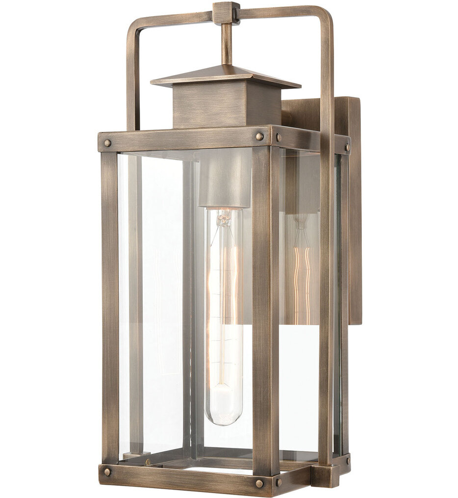 """Crested Butte 14"""" Outdoor Wall Sconce"""