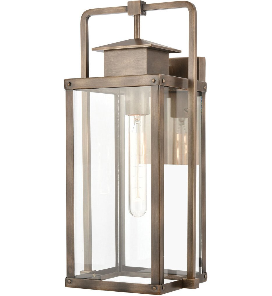 """Crested Butte 17"""" Outdoor Wall Sconce"""