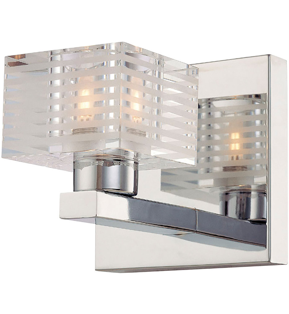 "Quatra 4.9"" Bath Vanity Light"