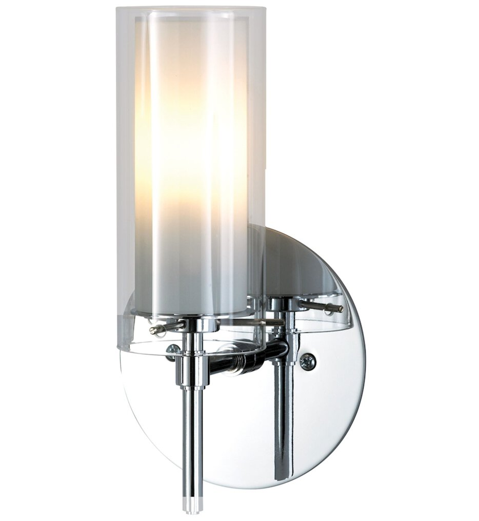 """Tubolaire 9.5"""" Wall Sconce"""