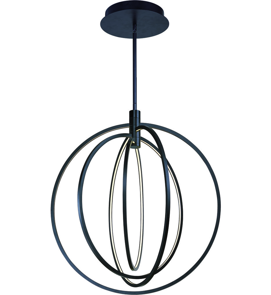 "Concentric LED 27"" Pendant"