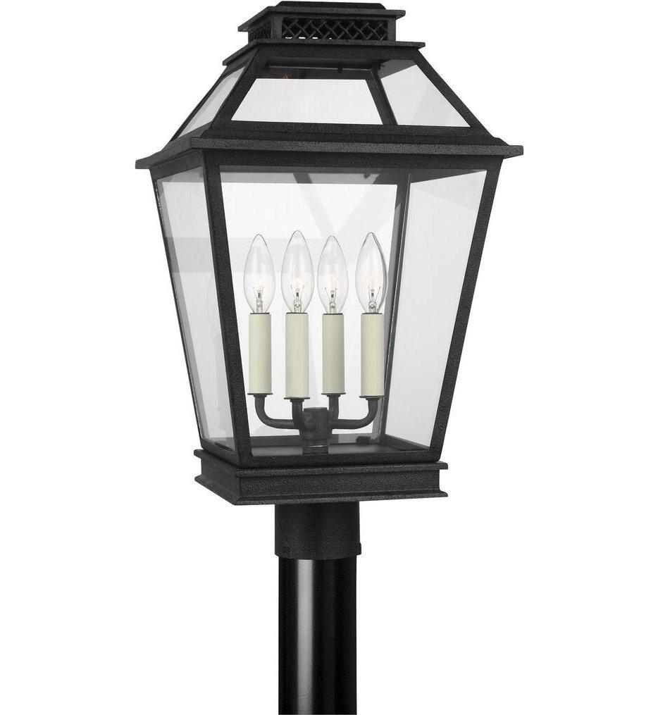 Chapman & Myers Falmouth 4 Light Outdoor Post Lantern