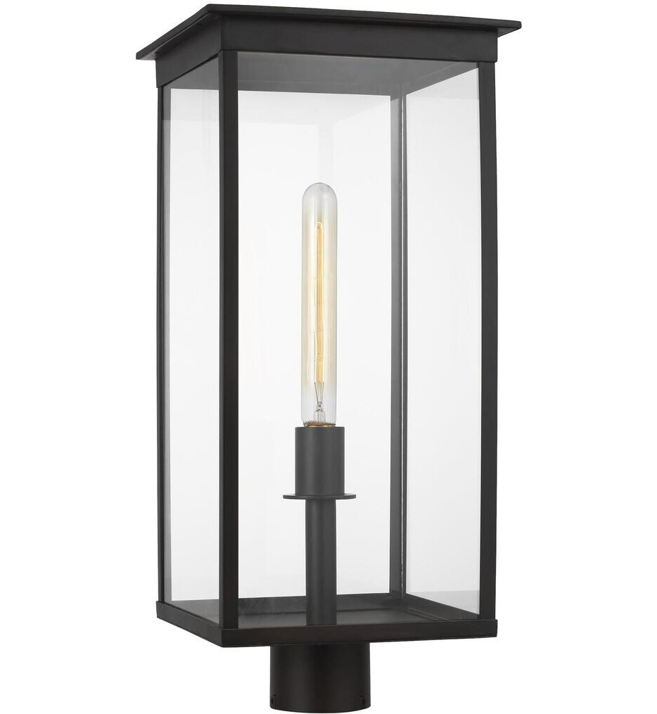 "Chapman & Myers Freeport 10"" Outdoor Post Lantern"