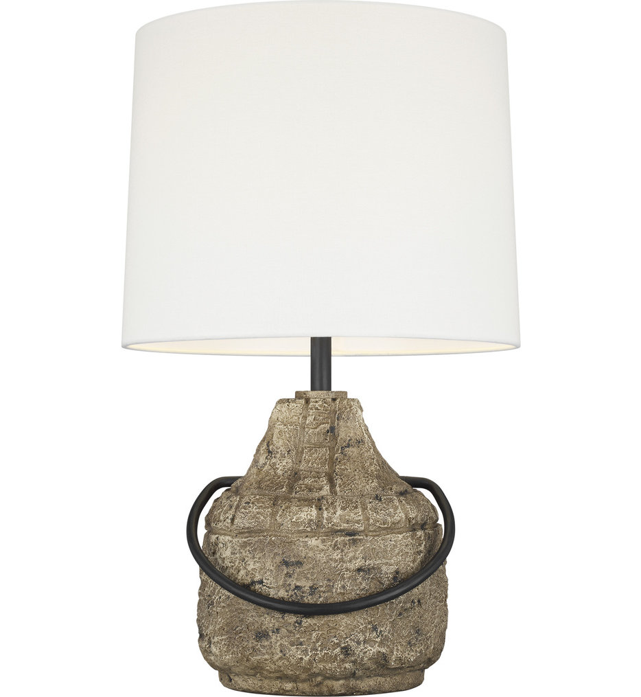 """Augie 27.38"""" Table Lamp"""