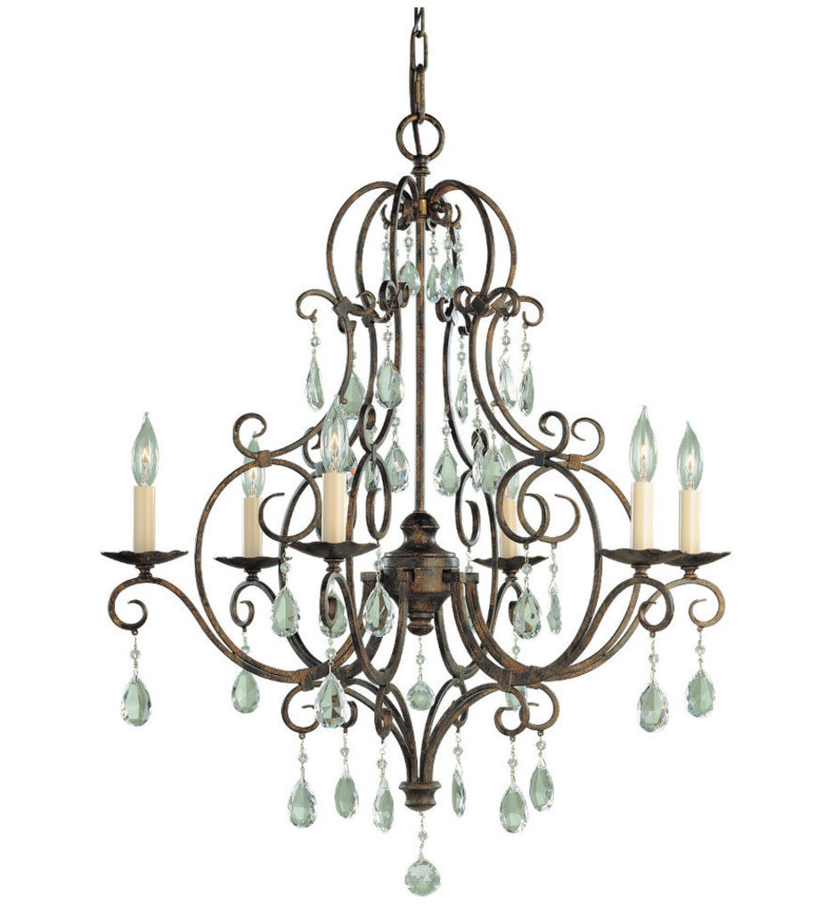 """Chateau 25"""" Chandelier"""