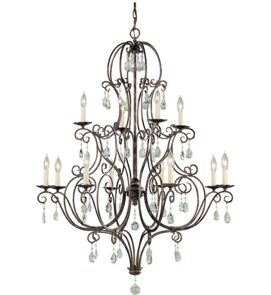 """Chateau 36"""" Chandelier"""