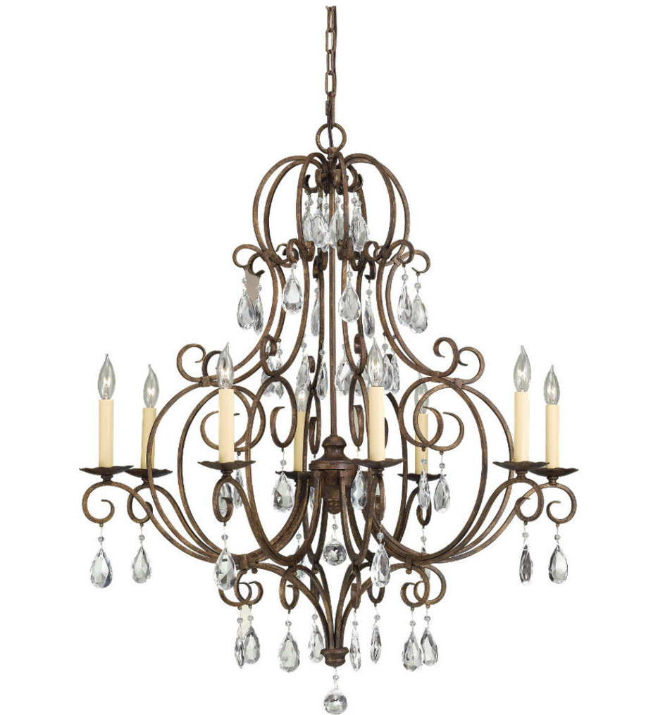 """Chateau 32"""" Chandelier"""