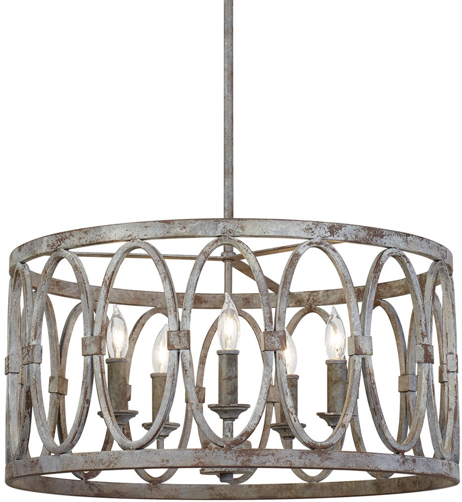 "Patrice 21"" Chandelier"