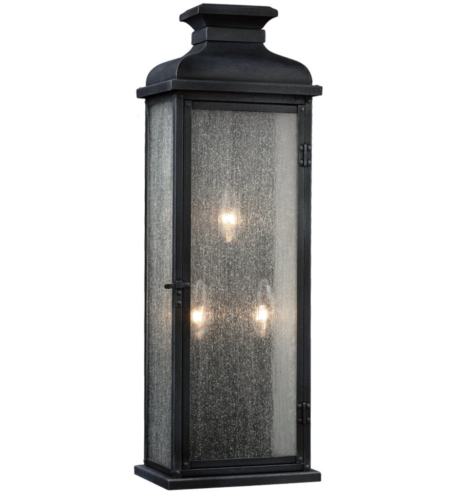 """Pediment 18.13"""" Outdoor Wall Sconce"""
