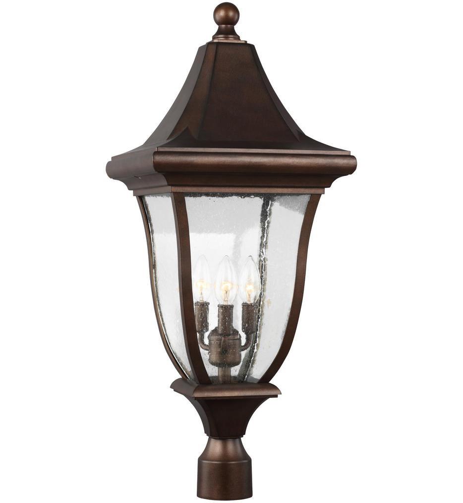 Oakmont 3 Light Outdoor Post Lantern