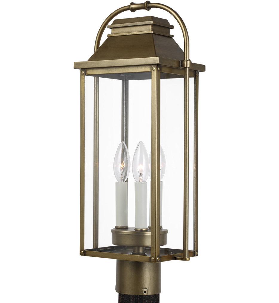 "Wellsworth 20.75"" Outdoor Post Lantern"