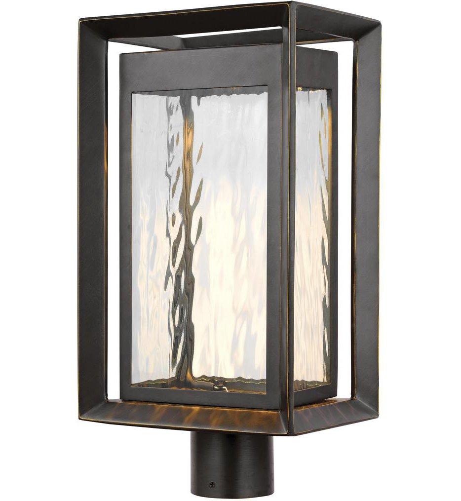 "Urbandale 18.75"" 1 Light Outdoor Post Lantern"