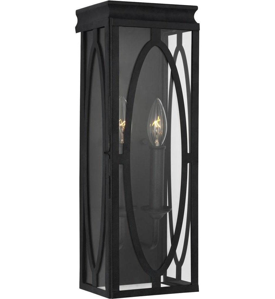 """Patrice 17.25"""" Outdoor Wall Sconce"""