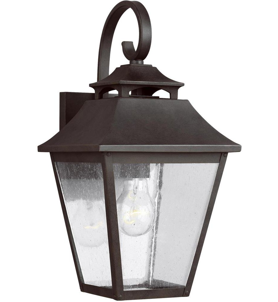 """Galena 16"""" Outdoor Wall Sconce"""