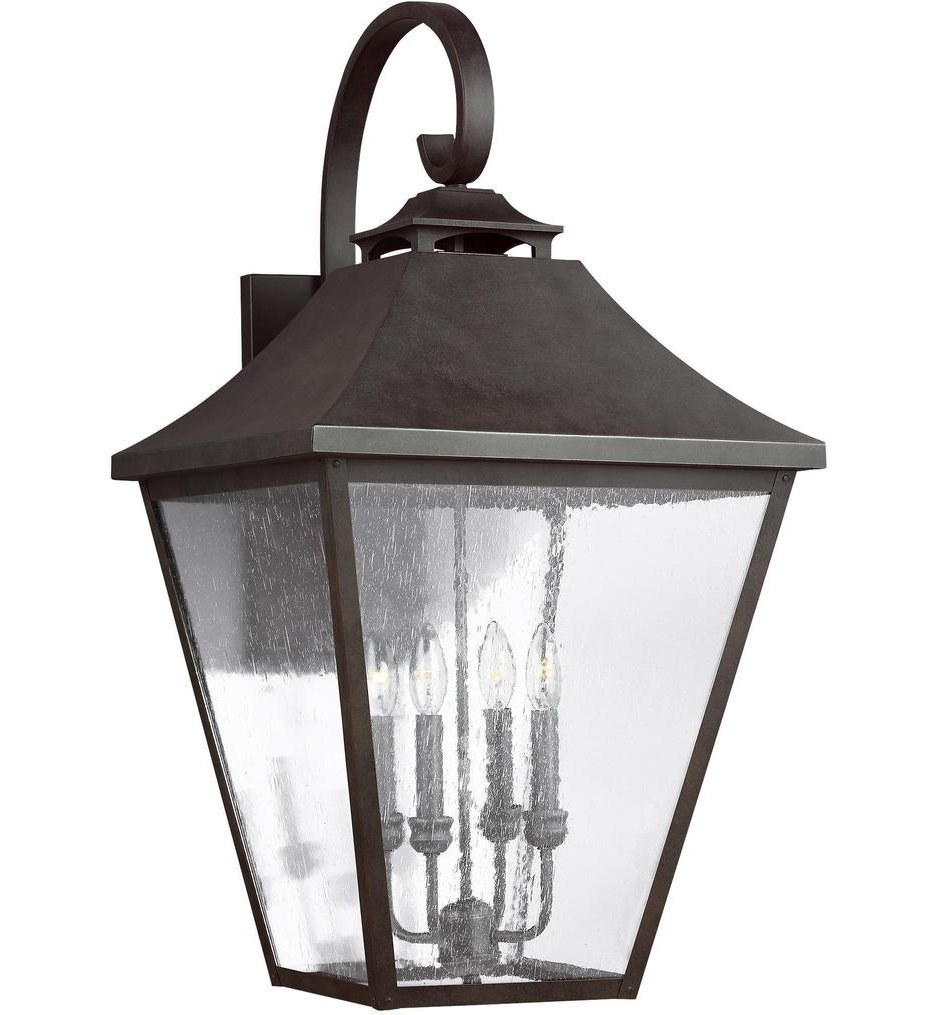 """Galena 33.38"""" Outdoor Wall Sconce"""