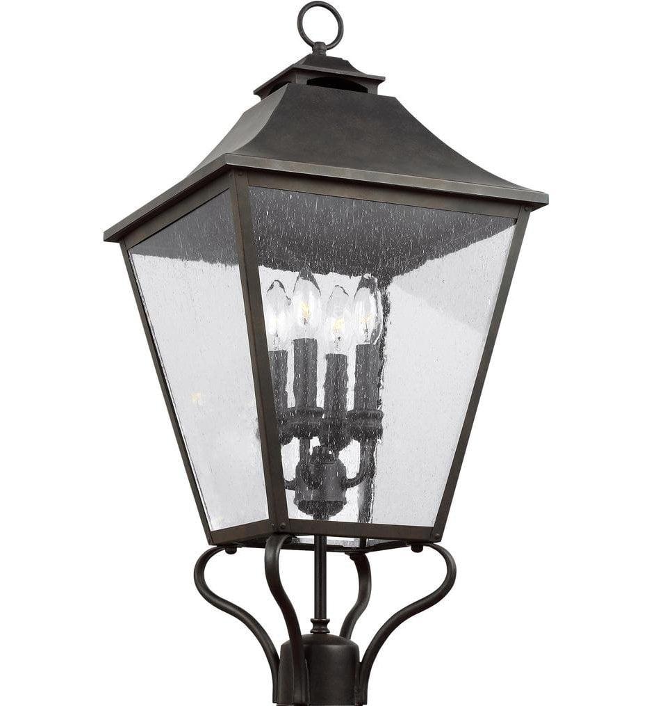 "Galena 29"" 4 Light Outdoor Post Lantern"