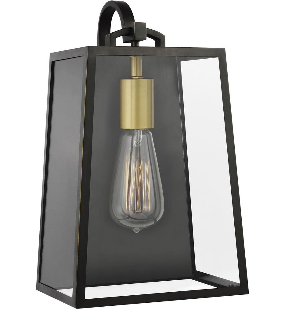 """Lindbergh 13.13"""" Outdoor Wall Sconce"""