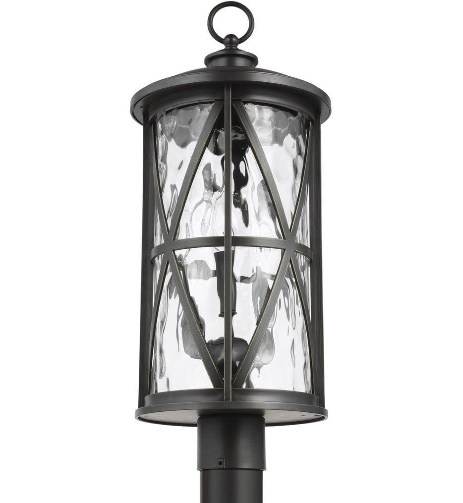 Millbrooke 3 Light Outdoor Post Lantern