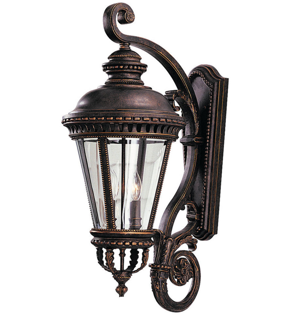 """Castle 32"""" Outdoor Wall Sconce"""