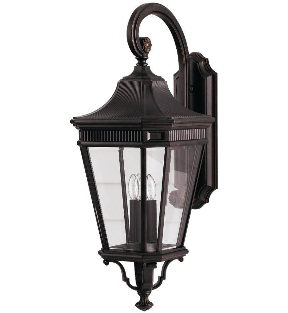 """Cotswold Lane 30"""" Outdoor Wall Sconce"""