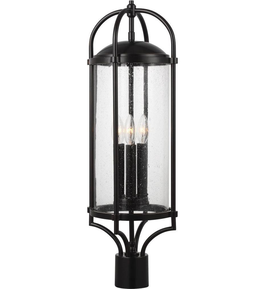 Dakota 3 Light Outdoor Post Lantern