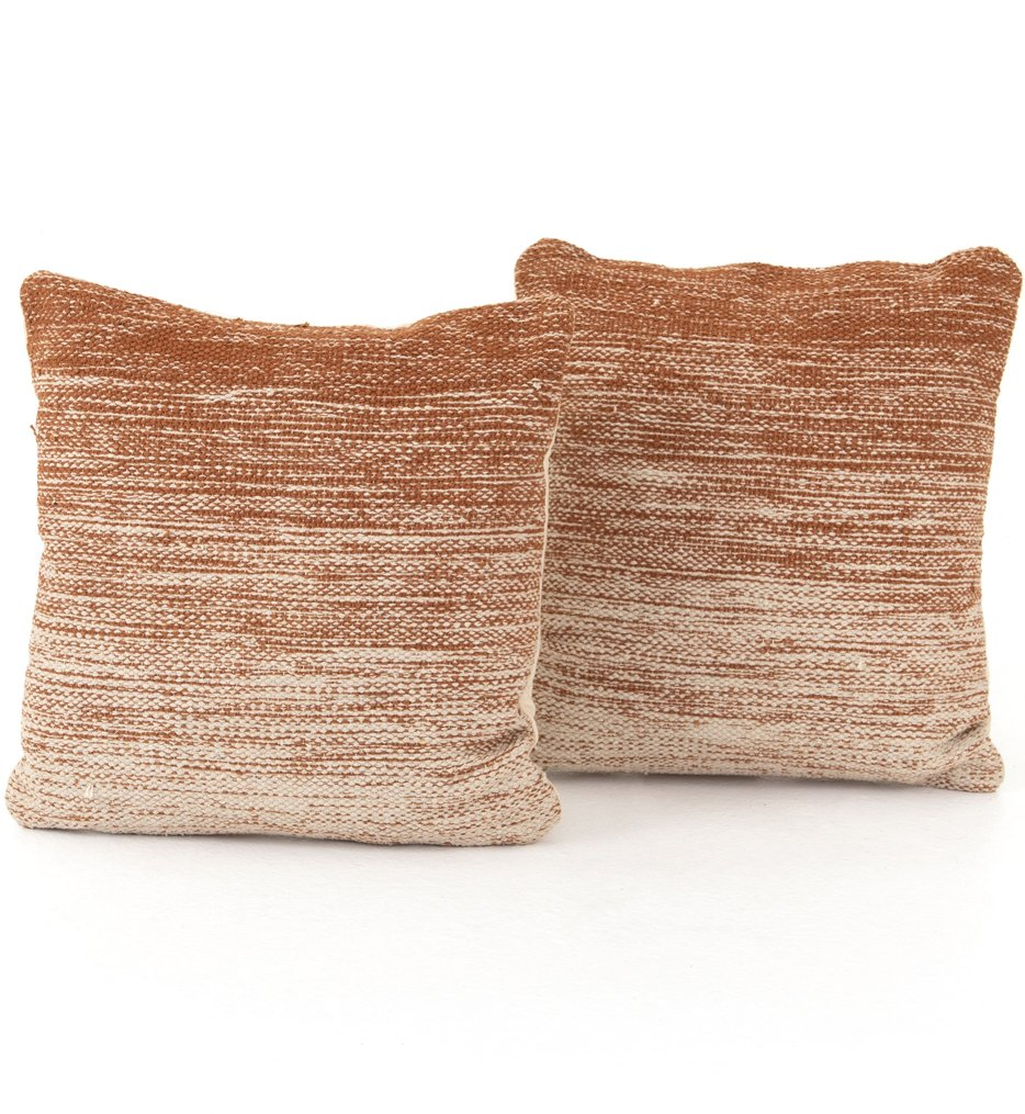 """Tawny Ombre 20"""" Pillow (Set of 2)"""