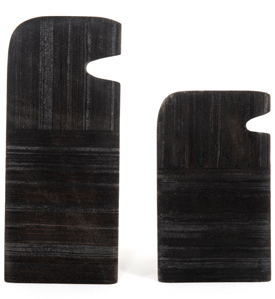 Tab Stone Sculptures (Set of 2)