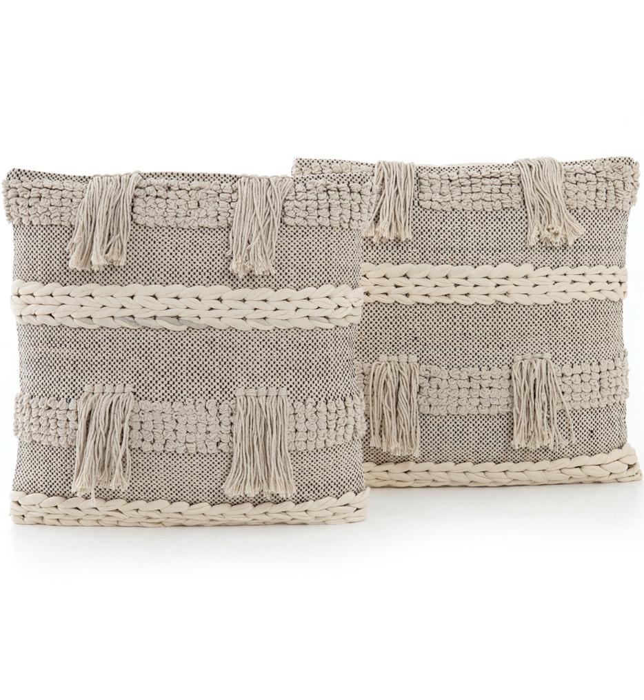 Braided Fringe Pillow (Set of 2)