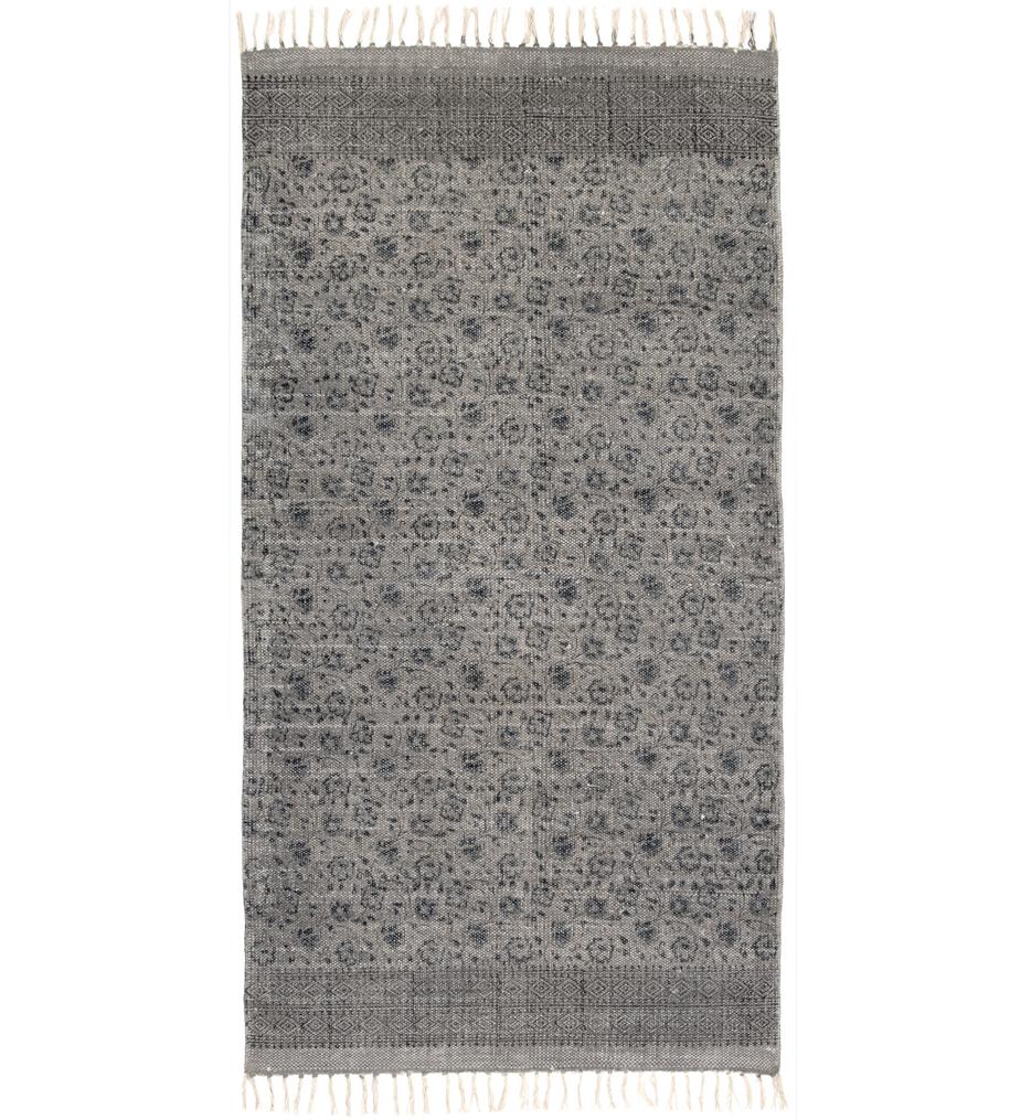 Flatweave Faded Print Rug