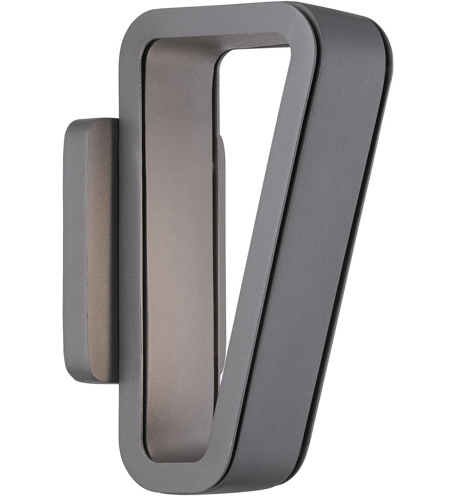"""Pediment 11.25"""" Outdoor Wall Sconce"""