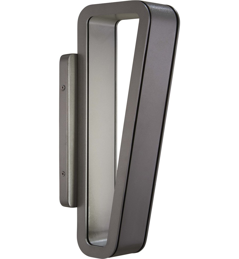 """Pediment 16"""" Outdoor Wall Sconce"""