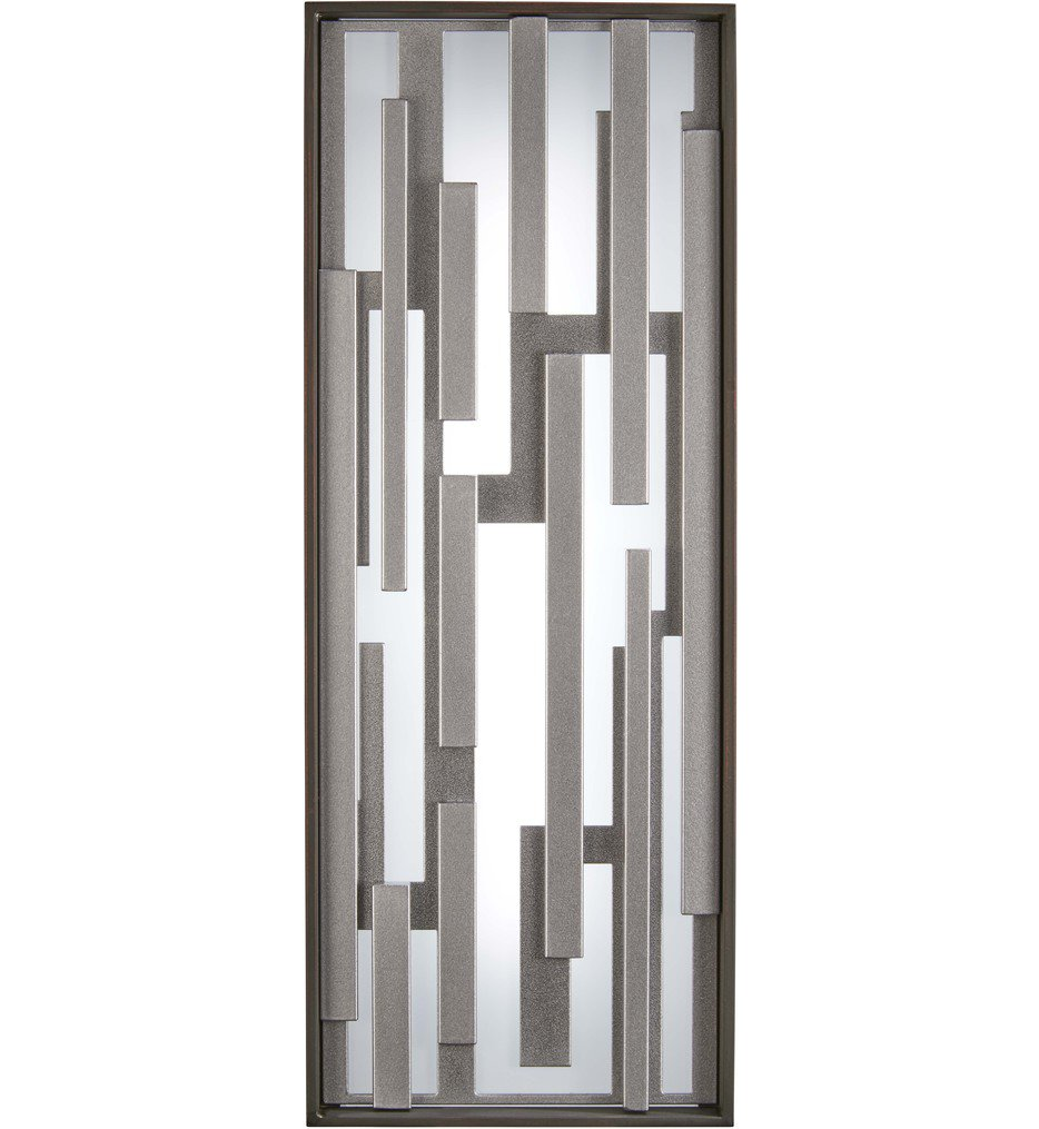 """Bars 17"""" Outdoor Wall Sconce"""