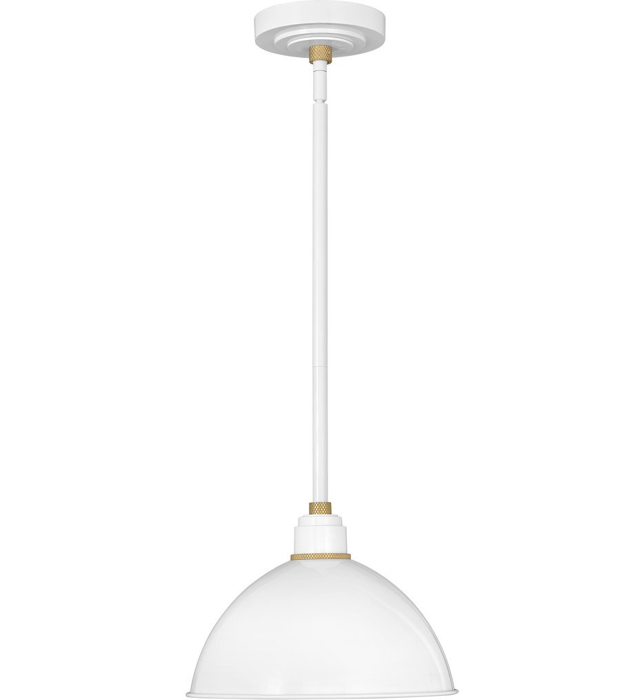 """Foundry Dome 12"""" Outdoor Pendant"""