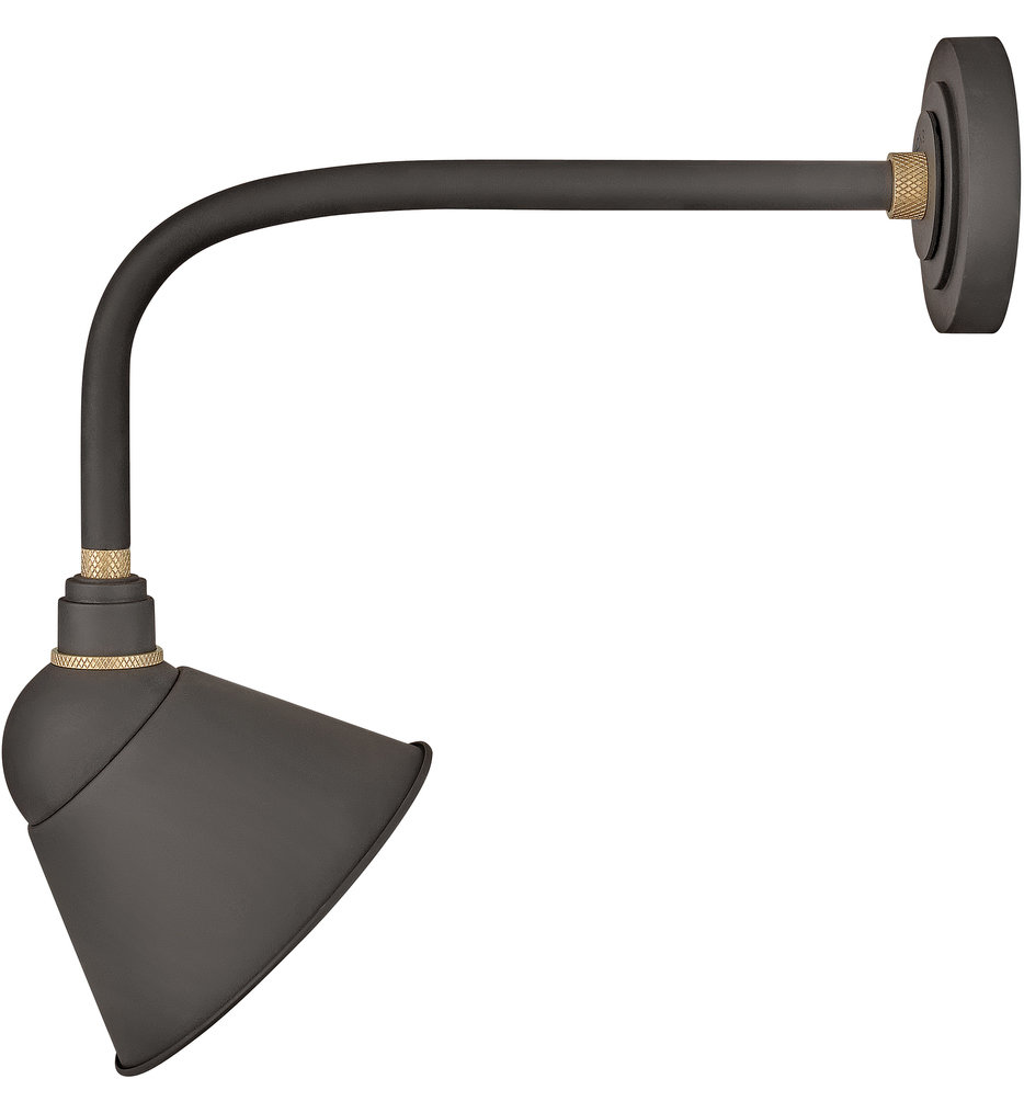 "Foundry Sign Light 20.5"" Outdoor Wall Sconce"