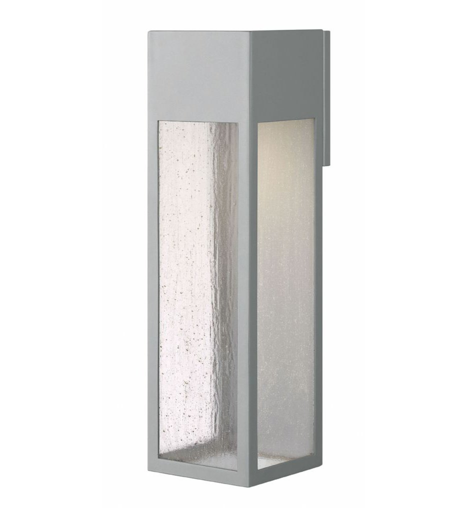 """Rook 20"""" Outdoor Wall Sconce"""