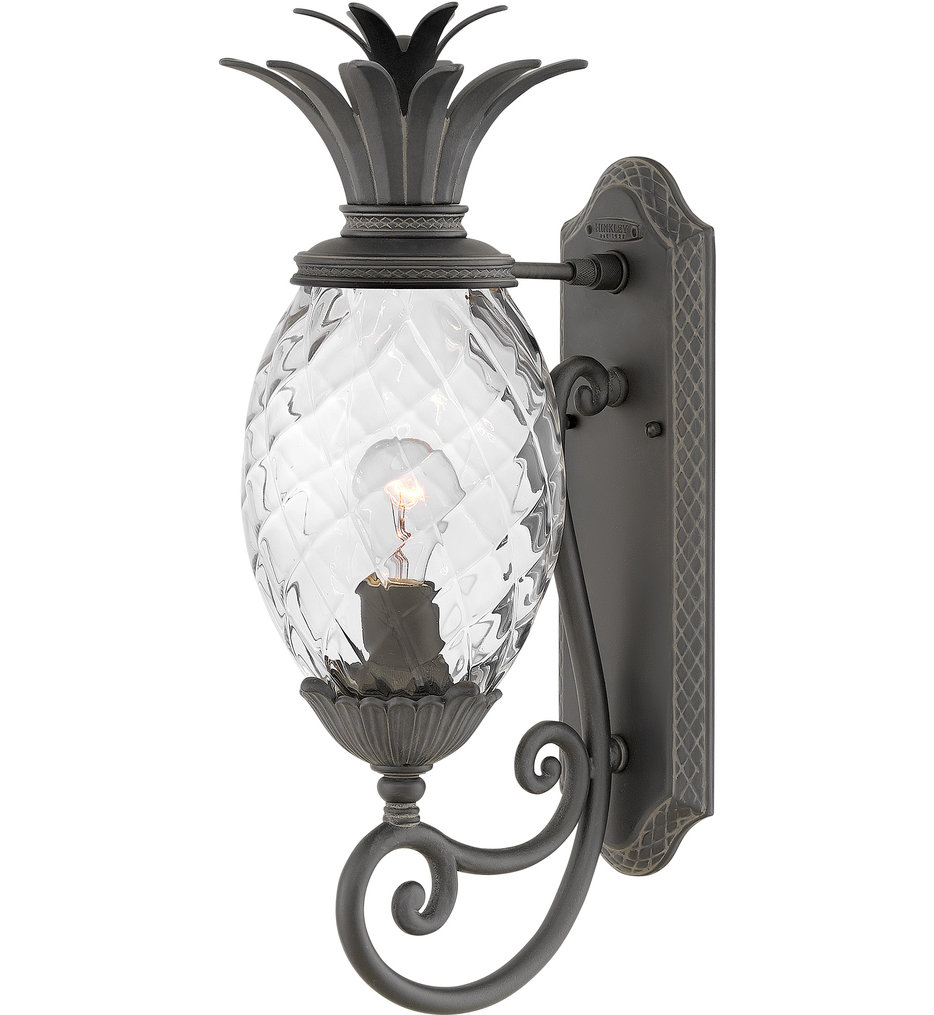 """Plantation 21.25"""" Outdoor Wall Sconce"""