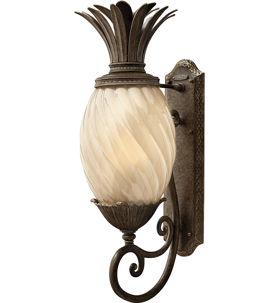 """Plantation 28"""" Outdoor Wall Sconce"""