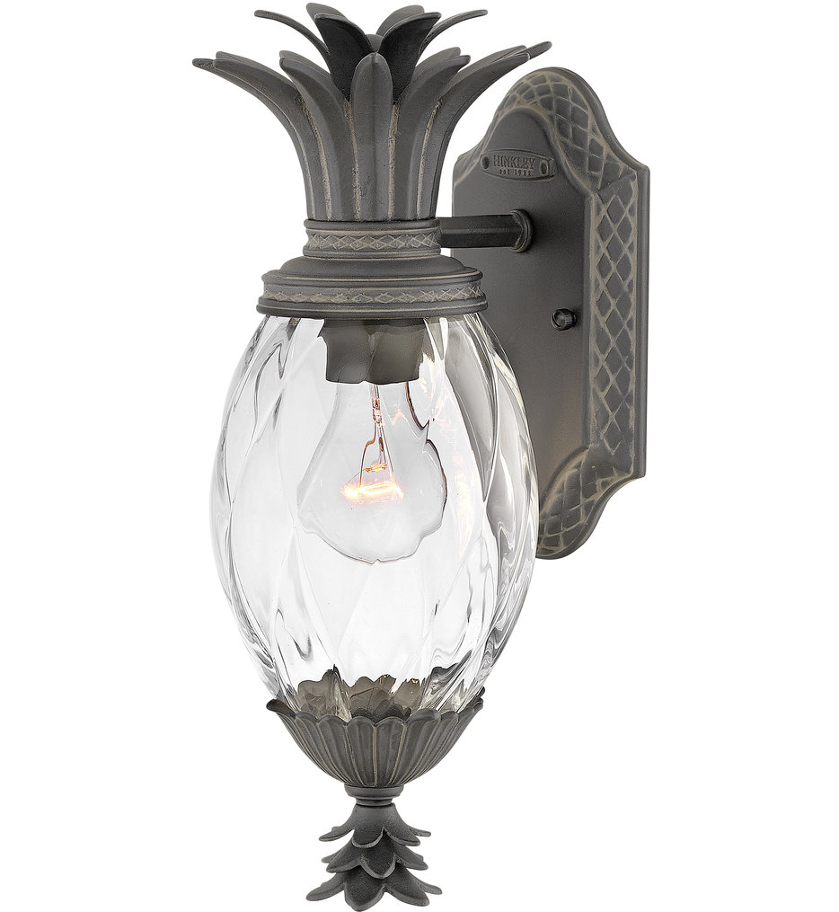 """Plantation 14"""" Outdoor Wall Sconce"""
