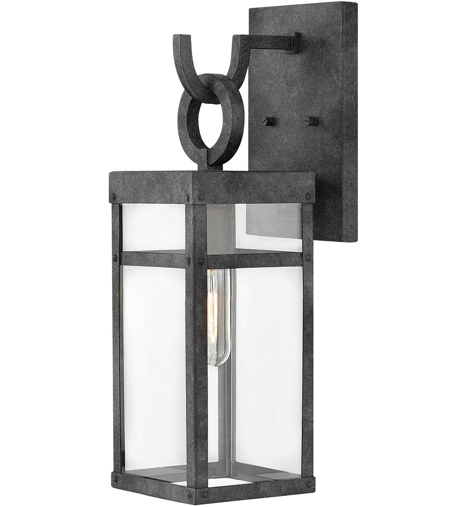 """Porter 18.5"""" Outdoor Wall Sconce"""
