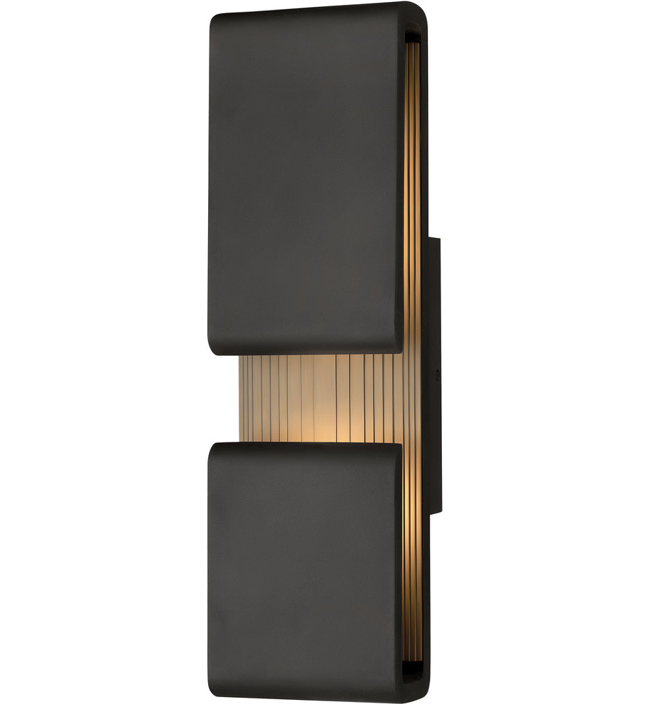 """Contour 22"""" Outdoor Wall Sconce"""
