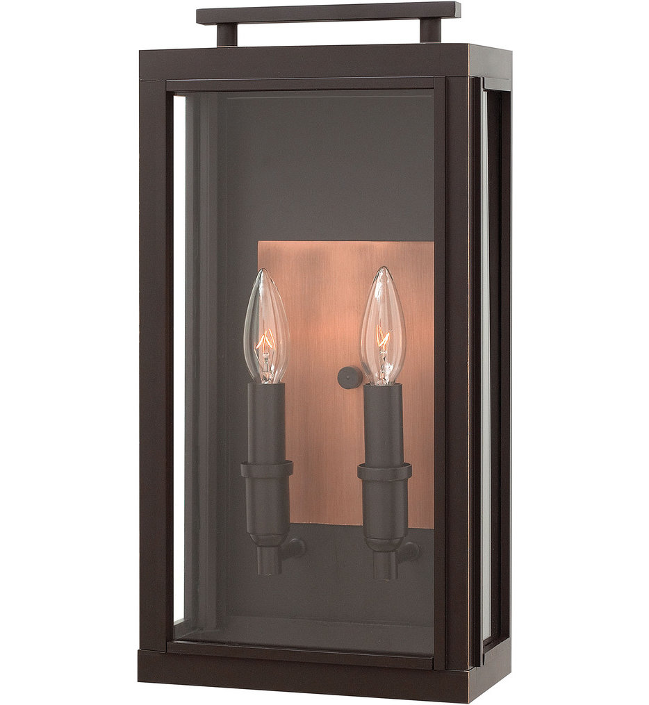 "Sutcliffe 17"" Outdoor Wall Sconce"