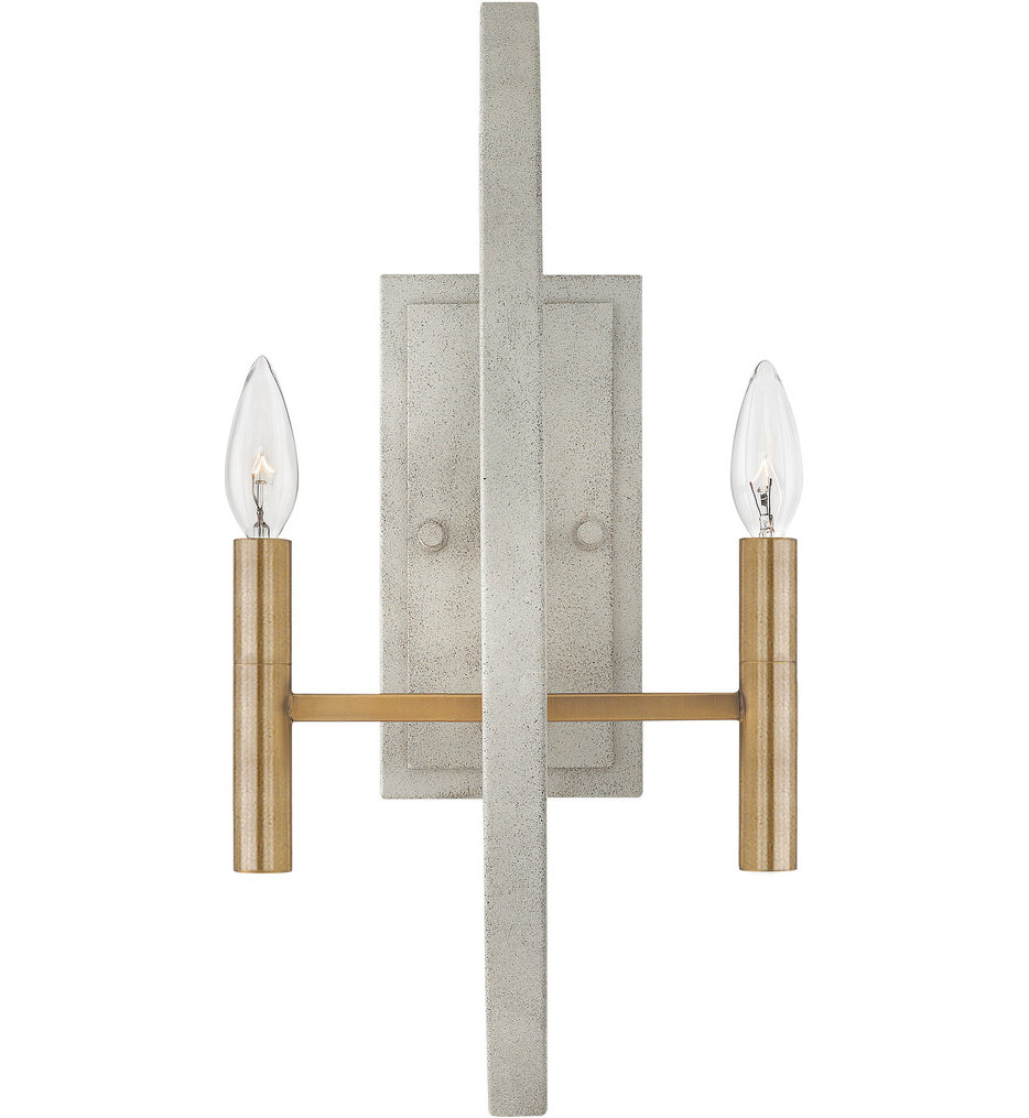 """Euclid 20"""" Wall Sconce"""