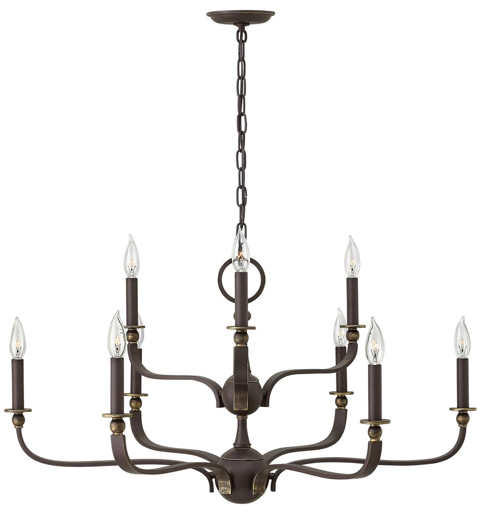 """Rutherford 34.25"""" Chandelier"""