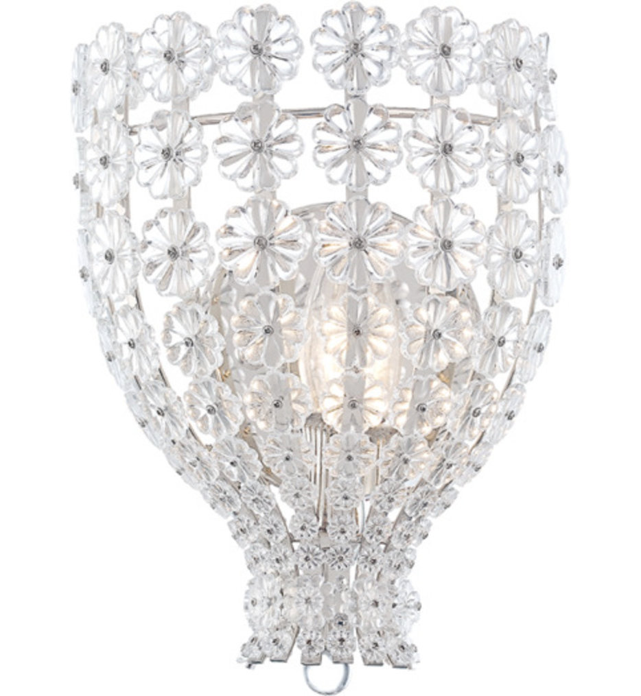 """Floral Park 11"""" Wall Sconce"""