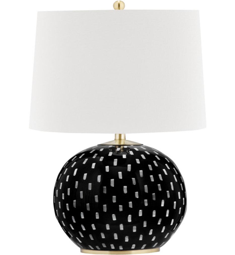 "Mastic 22"" Table Lamp"