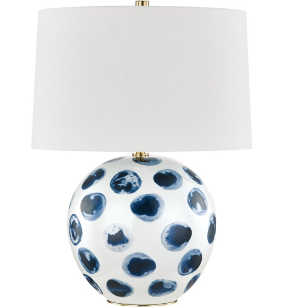 """Blue Point 22"""" Table Lamp"""