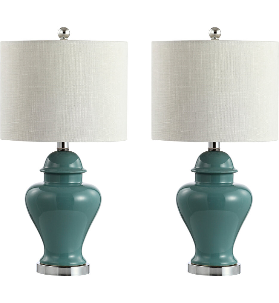 """Qin 22"""" Table Lamp (Set of 2)"""