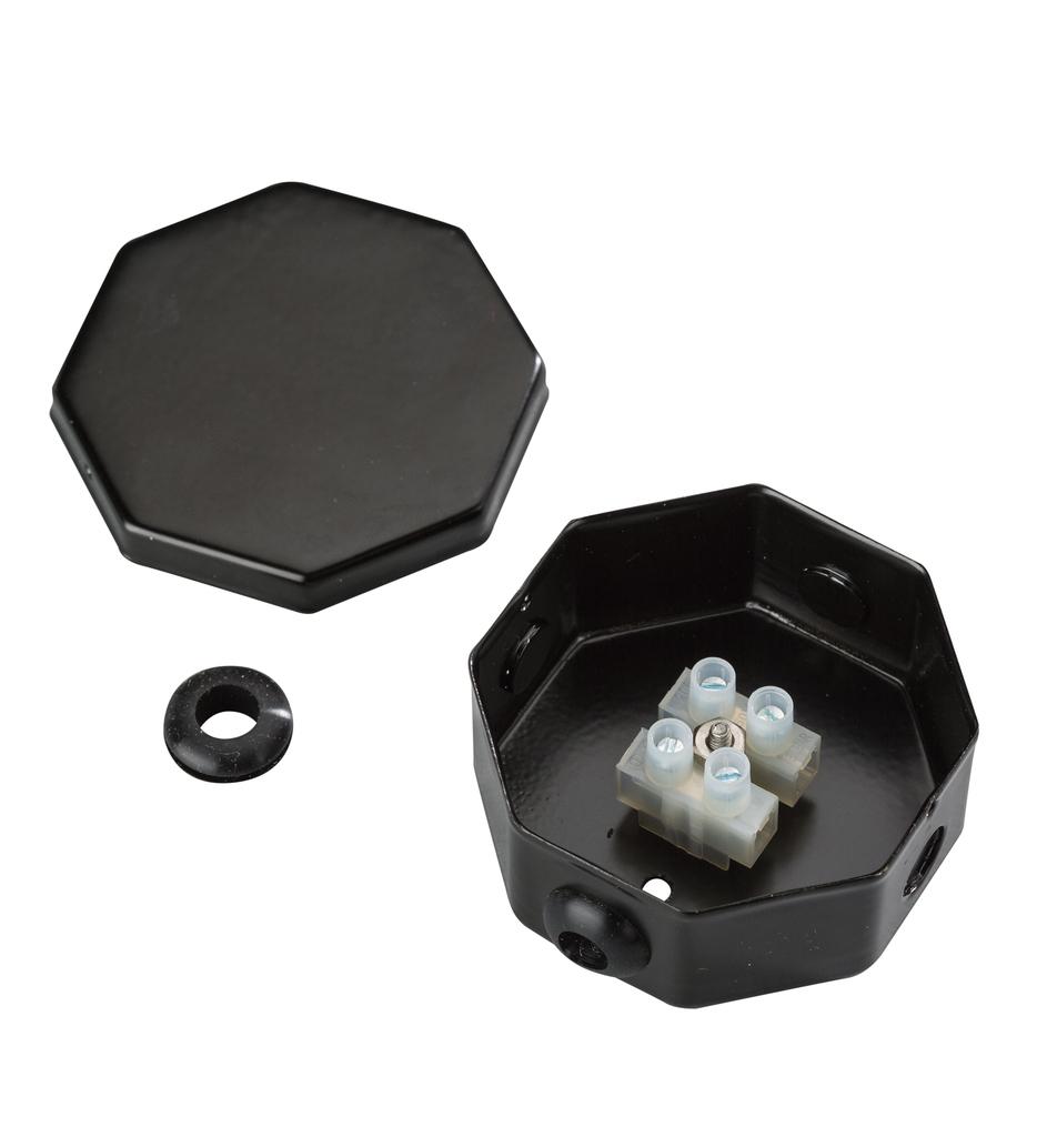 Tape Light Splice Box Assembly
