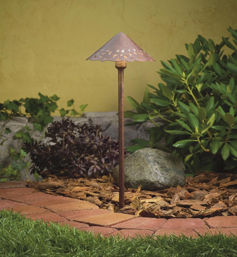 Landscape LED Hammered Roof Path Light