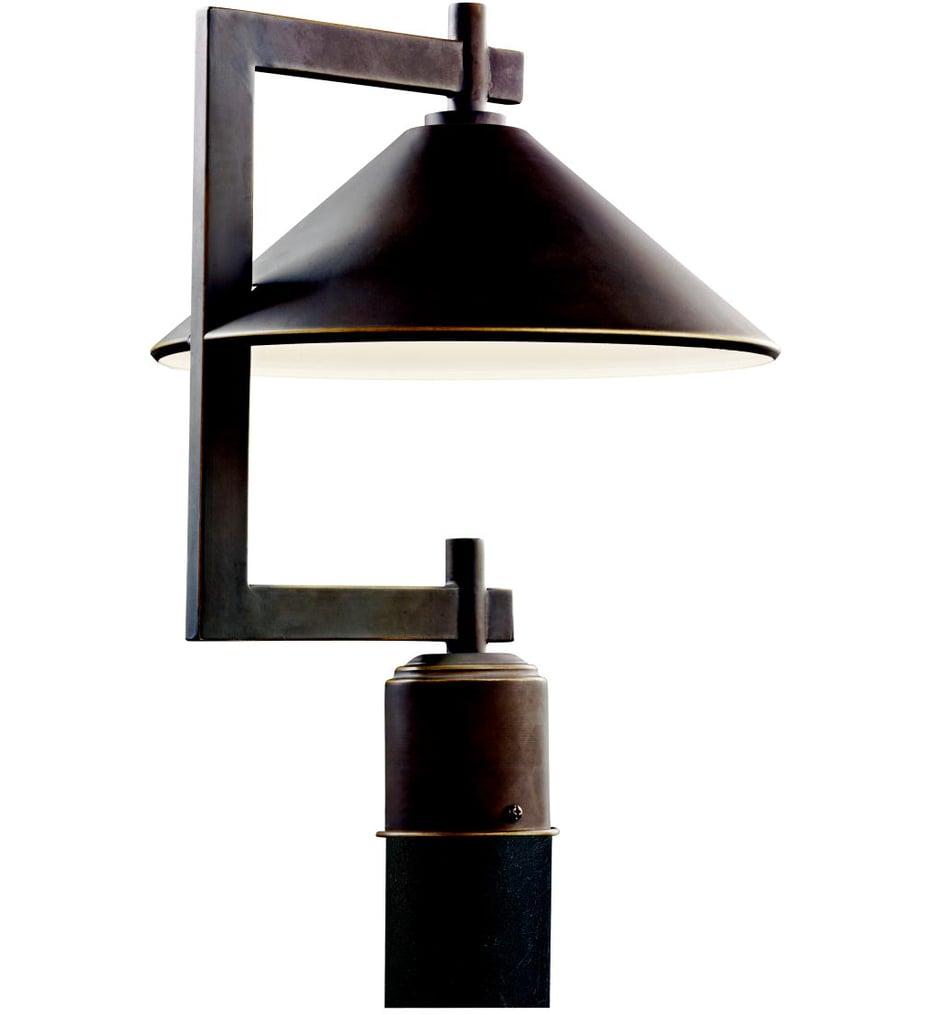 "Ripley 12"" 1 Light Outdoor Post Lantern"